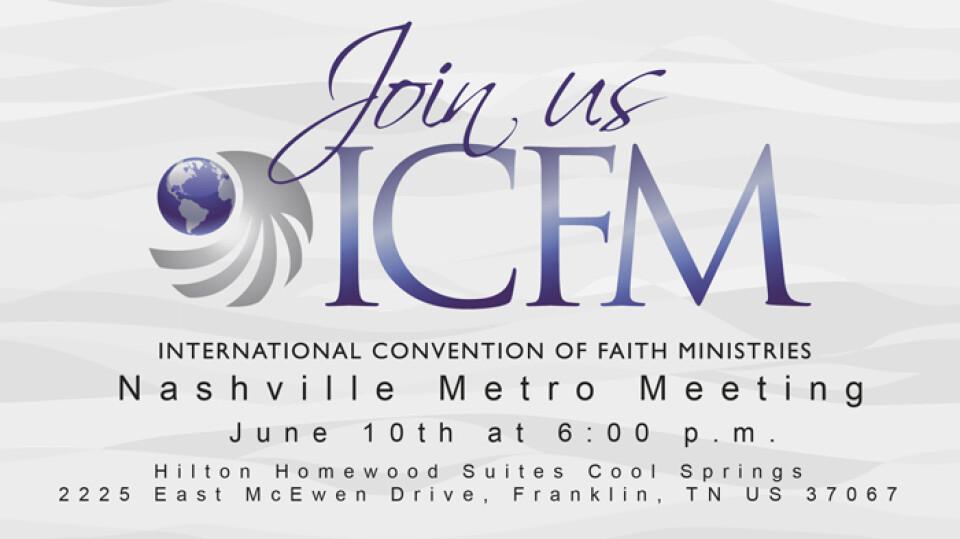 Nashville Metro ICFM Meeting