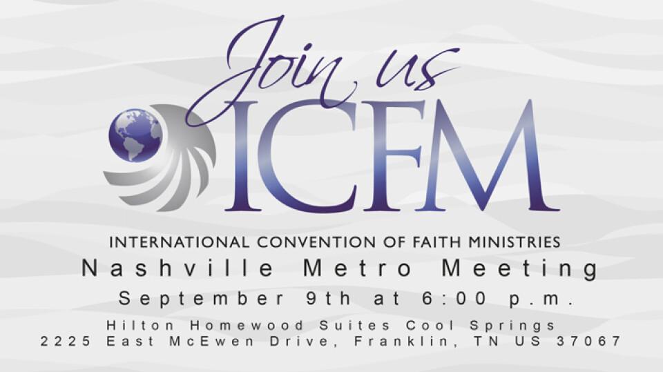 ICFM Nashville Metro Meeting